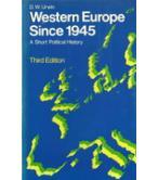 WESTERN EUROPE SINCE 1945