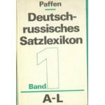 DEUTCH-RUSSISCHES SATZLEXIKON