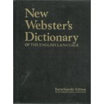 NEW WEBSTER'S DICTIONARY OF THE ENGLISH LANGUAGE